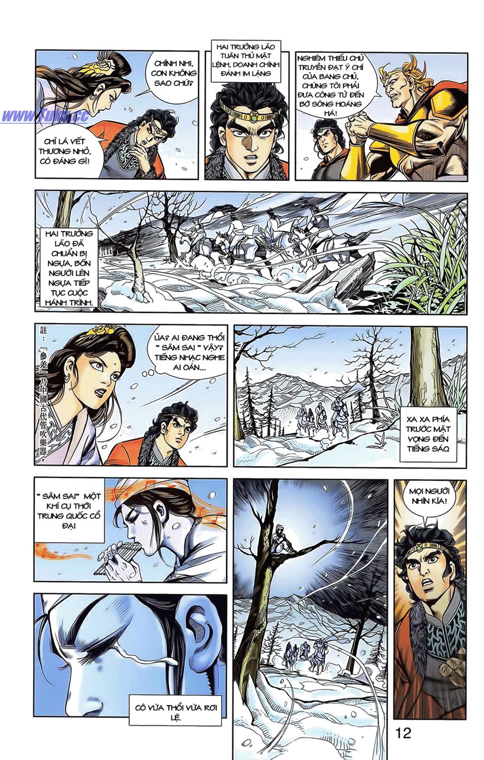 Tần Vương Doanh Chính chapter 12 trang 3