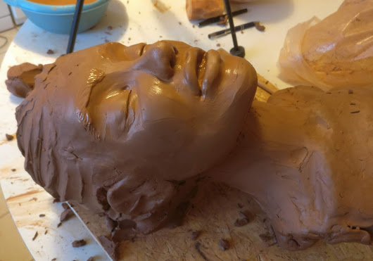 Work in progress pour une nouvelle photo de sculpture