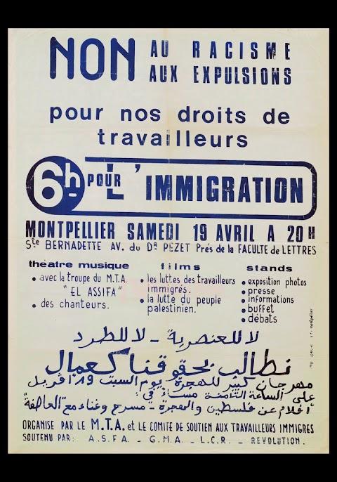 La Palestine dans les luttes de l'immigration en France