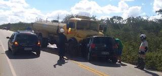 Acidente deixa três vítimas fatais na PB 137 em Picuí