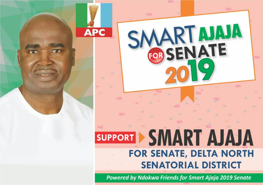 VOTE SMART AJAJA, RN For SENATE