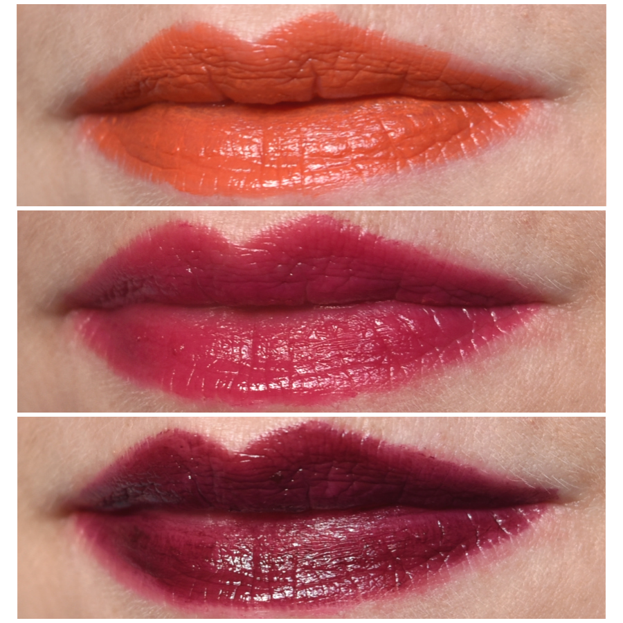 p2 cosmetics - Beauty VOYAGE Limited Edition - color fusion lipsticks swatches