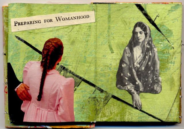 Handmade book by Claudia Mazzie-Ballheim