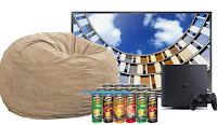 Logo Concorso ''Pringles Hackathon'': vinci gratis forniture, Pouf, TV Samsung e PlayStation 4