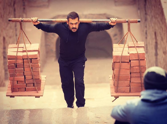 Training scenes of Sultan movie, where Salman Khan training hard