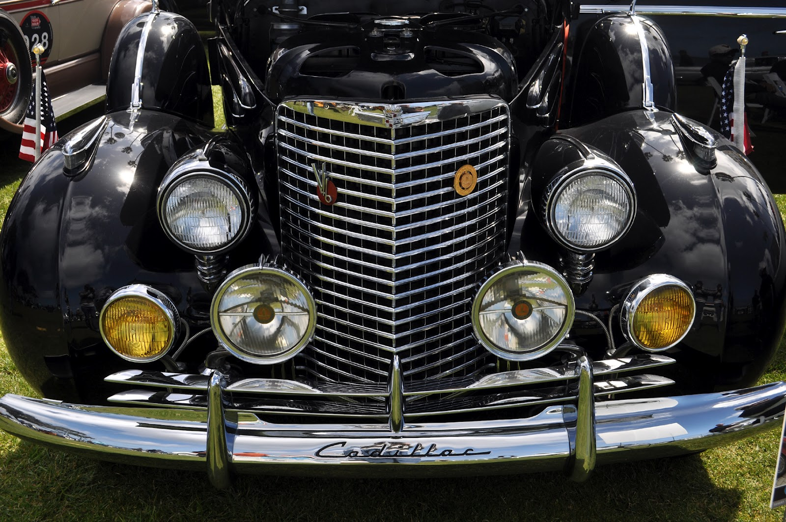 Just A Car Guy 1940 Cadillac Series 90 V16 And A Back