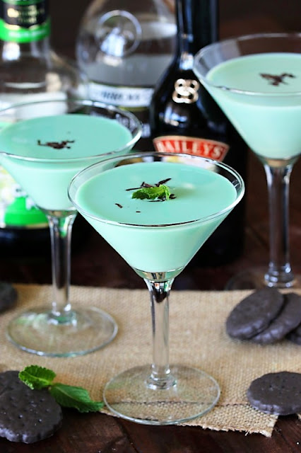 Thin Mint Cocktail image
