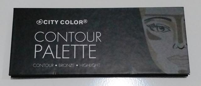 TAMPAK DEPAN - Review Countour Palette by City Color