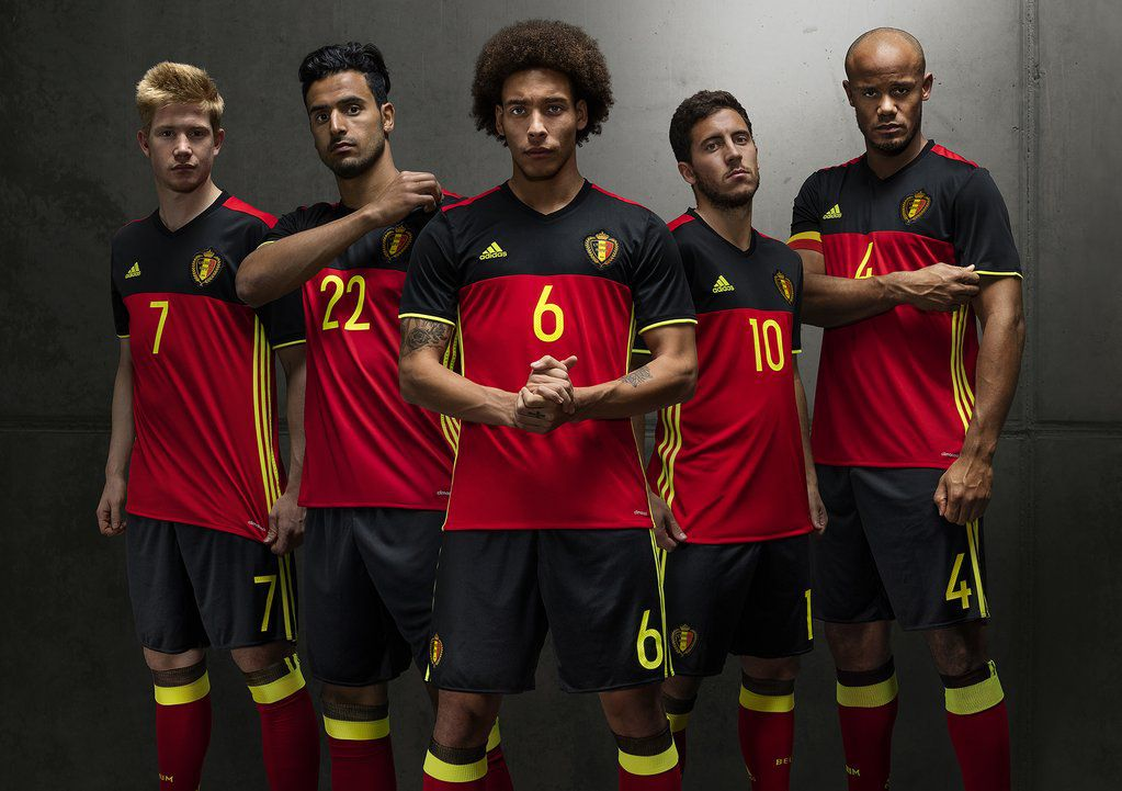 ベルギー代表 EURO 2016 ユニフォーム,ホーム