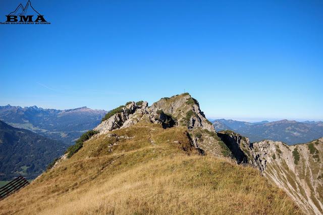 wandern Allgäu Obertsdorf Bayern The Wegde Zelt Heimplanet - Rubihorn Wanderung