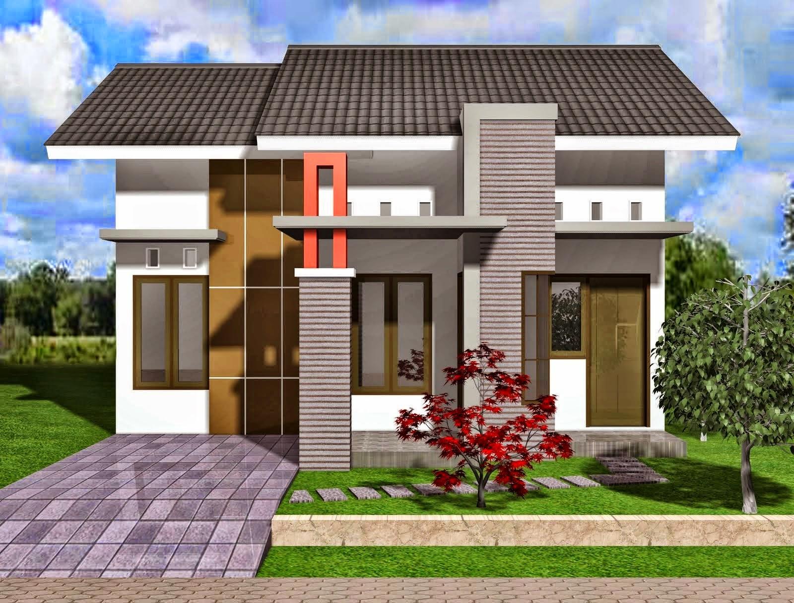 13 Gambar Denah & Desain Rumah Minimalis Type 45 [3 Kamar ...