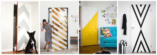 Resultado de imagem para portas decoração