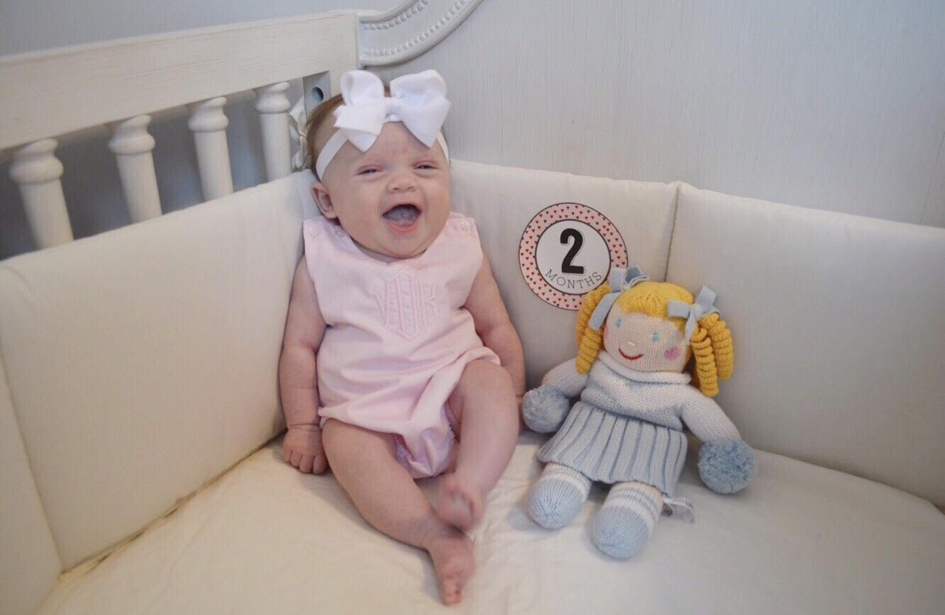 She Got Her 2 Month S S Yesterday And It Was Absolutely Heartbreaking Poor Girl Was Fussy And Not Interested In Eating All Day