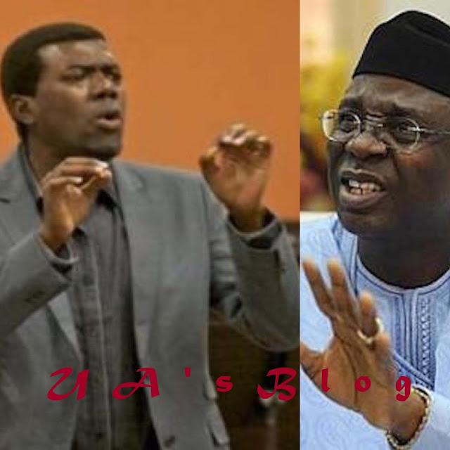 """Pastor Tunde Bakare Should Stop LYING"" – Reno Omokri  Slams Tunde Bakare Over Statement On Buhari And Jonathan"