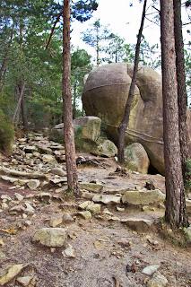 Boulder del Camino La Pedriza