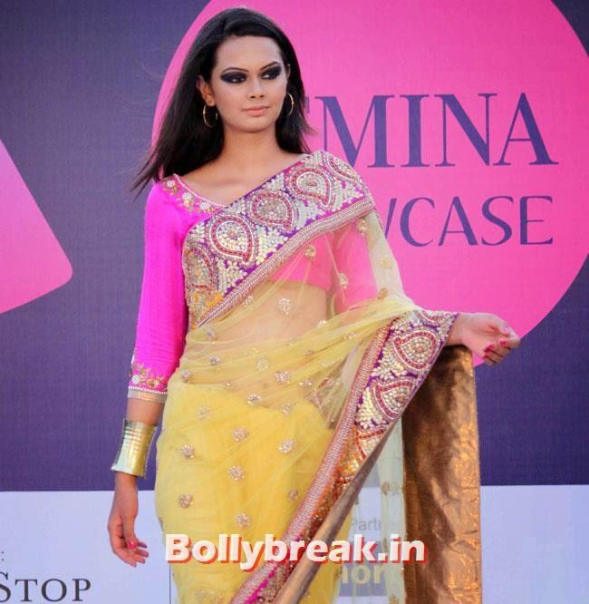 Femina Festive Showcase 2014 Fashion Show, Yuvika, Divya at Femina Festive Showcase 2014 Fashion Show