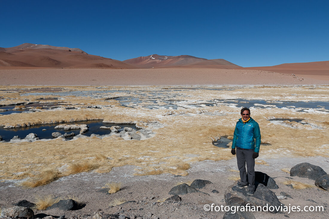 río Quepiaco en desierto Atacama