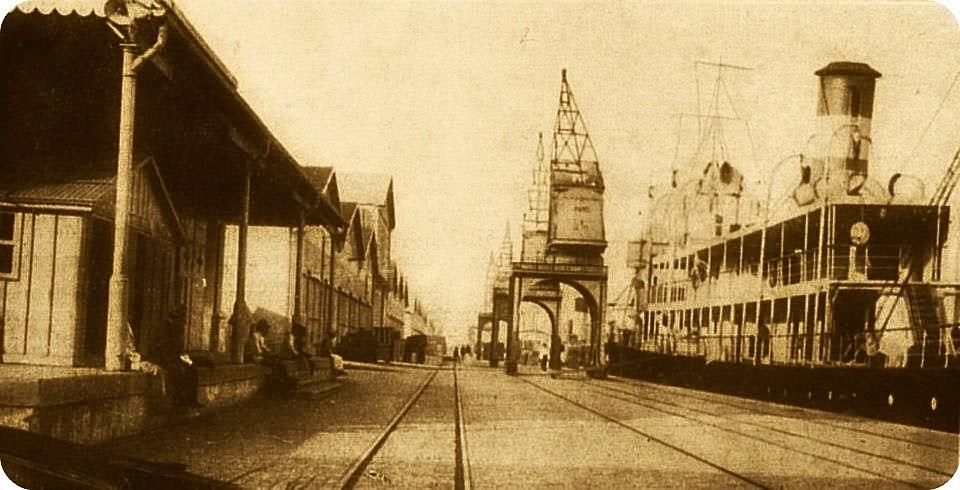 Cais do Porto de Porto Alegre, 1925