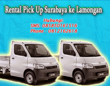 Rental Pick Up Surabaya ke Lamongan
