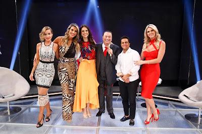 Lola, Ciça, Cris, Raul, Thammy e Val (Crédito: Rodrigo Belentani/SBT)
