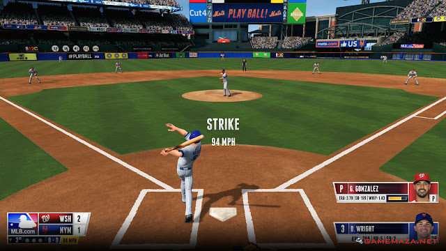 RBI Baseball 16 Gameplay Screenshot 3
