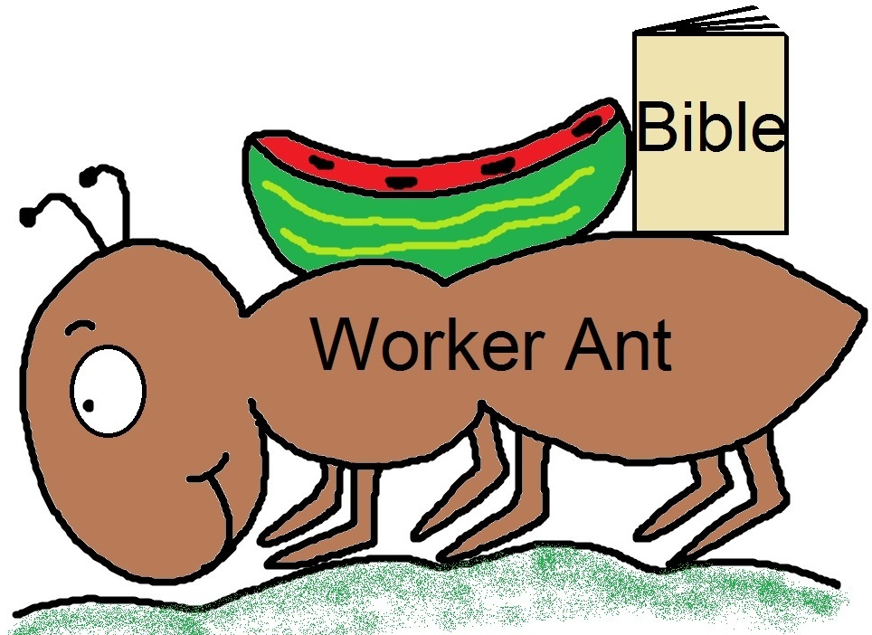 """Church House Collection Blog: """"Let's Be Like An Ant ..."""
