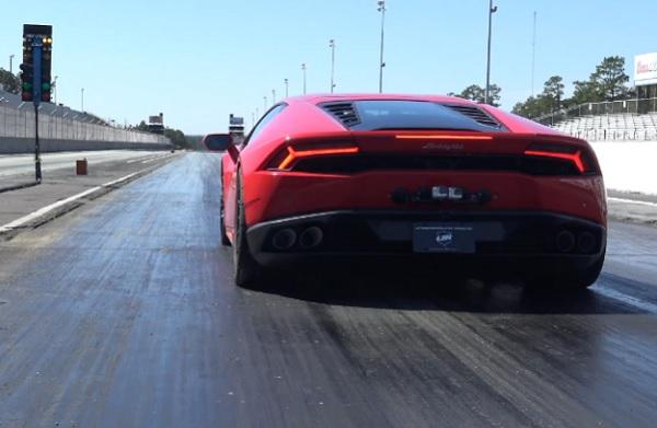 Lamborghini Huracán Underground Racing récord mundial 1/4 milla