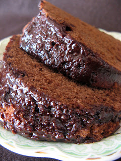 new sept+060a Sour Cream Chocolate Bundt Cake with Chocolate Glaze