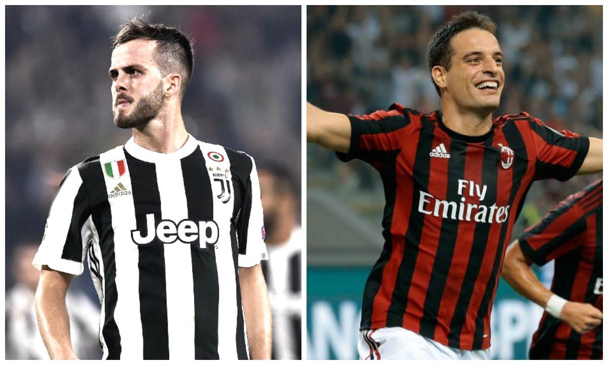 Juventus Milan: Pjanic e Bonaventura presentano la finale di Coppa Italia di calcio
