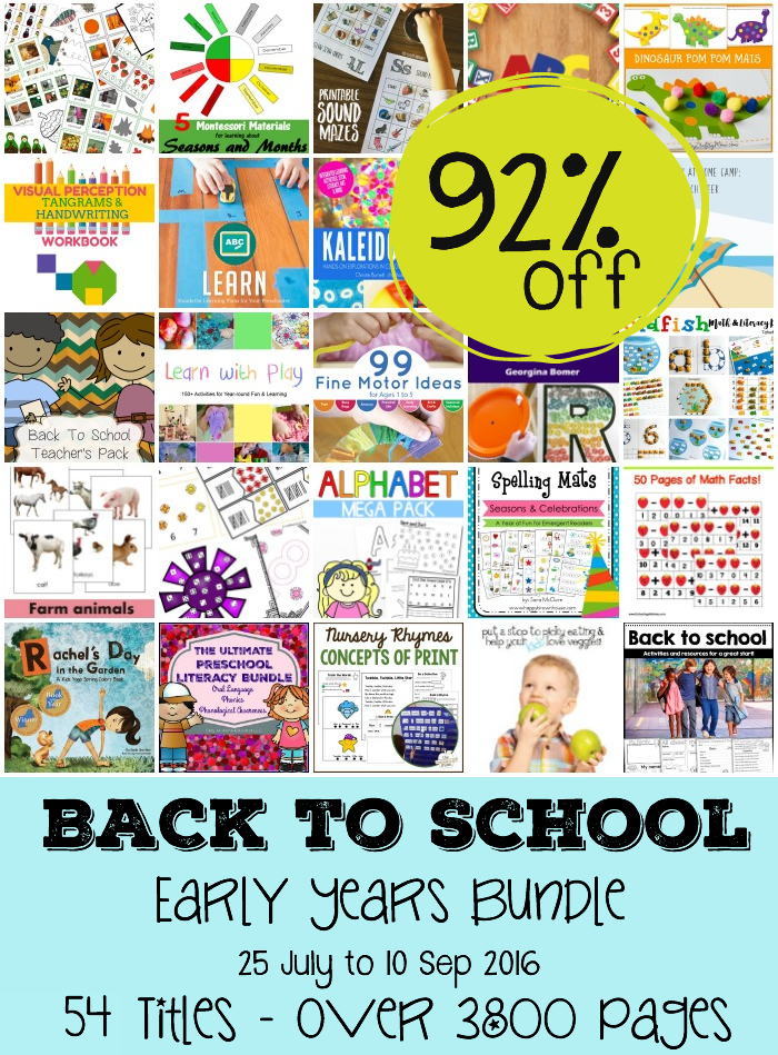 Back to school early years ebook bundle 92 off for 3 days only this is a huge collection of 54 ebooks that will energize your school year and ignite your childrens learning and for 3 more days you can get all 54 fandeluxe Gallery