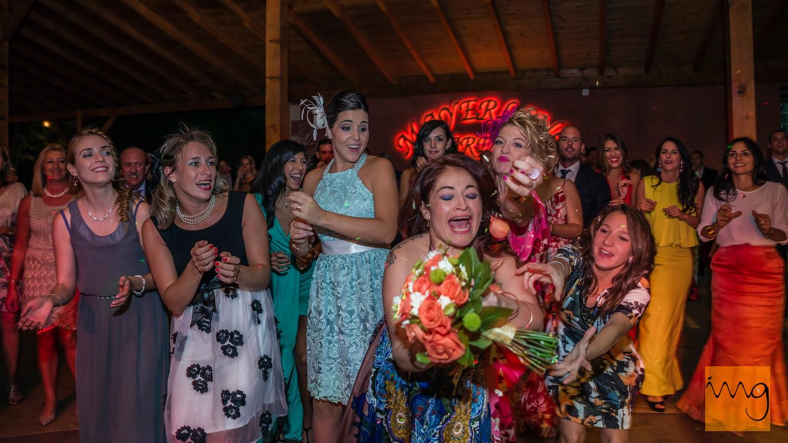 Fotografía de boda en el momento justo