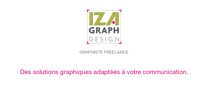 IZAgraph, graphiste freelance à Grenoble