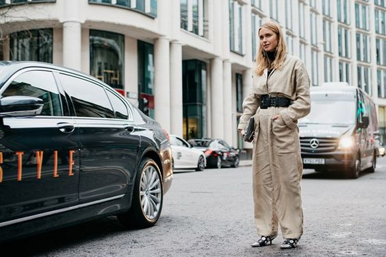 Vogue UK LFW Street Style - Pernille Teisbaek