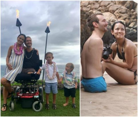 Image result for nick vujicic welcome twin