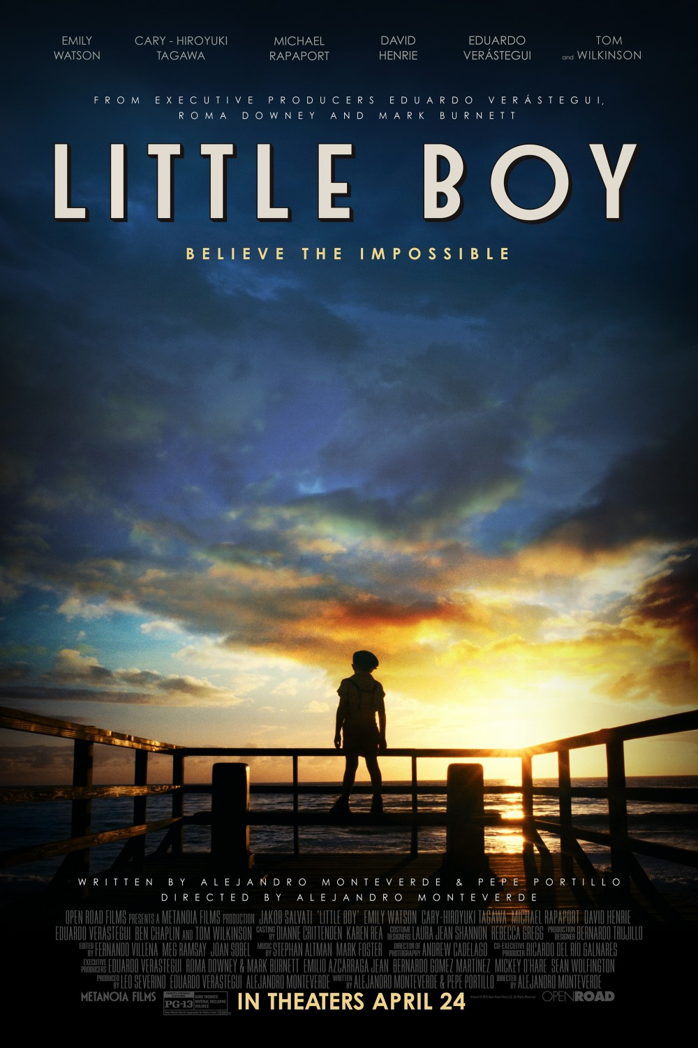 Nonton Film Little Boy (2015)