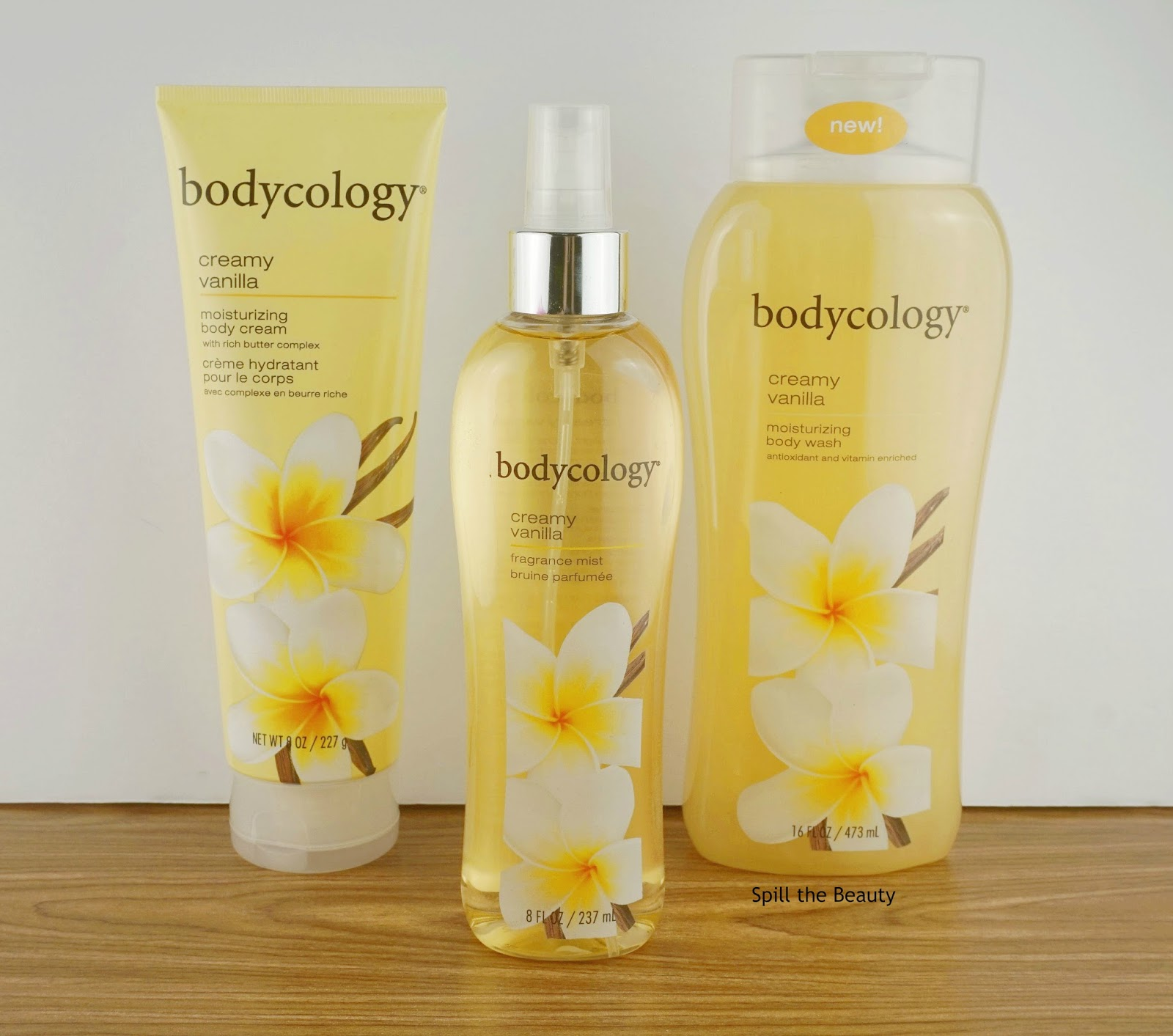 bodycology creamy vanilla bodycare