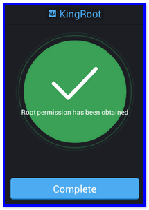 Kingroot v4.9.6 build 20160812 (One Click Root)