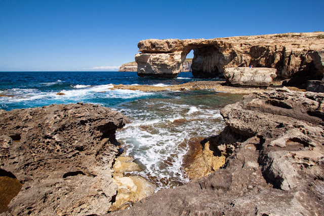 Isola di Gozo-La finestra blu