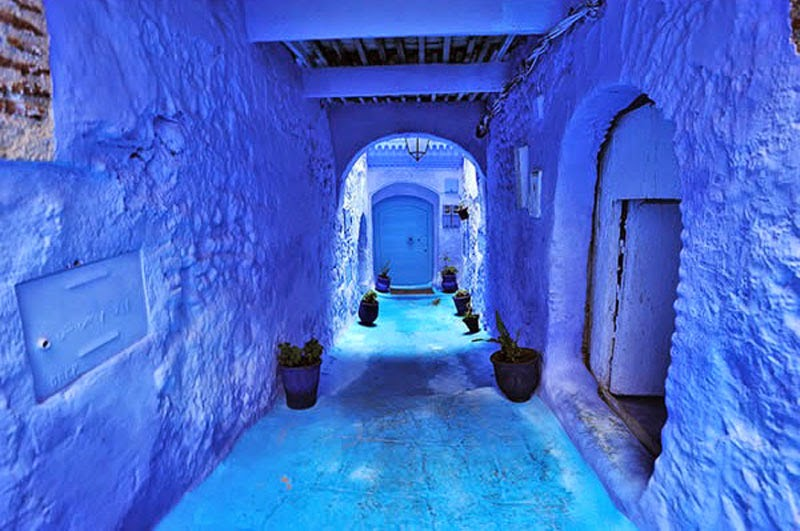 1. Blue Street, Morocco - 5 of The Most Wondrous Streets on Earth