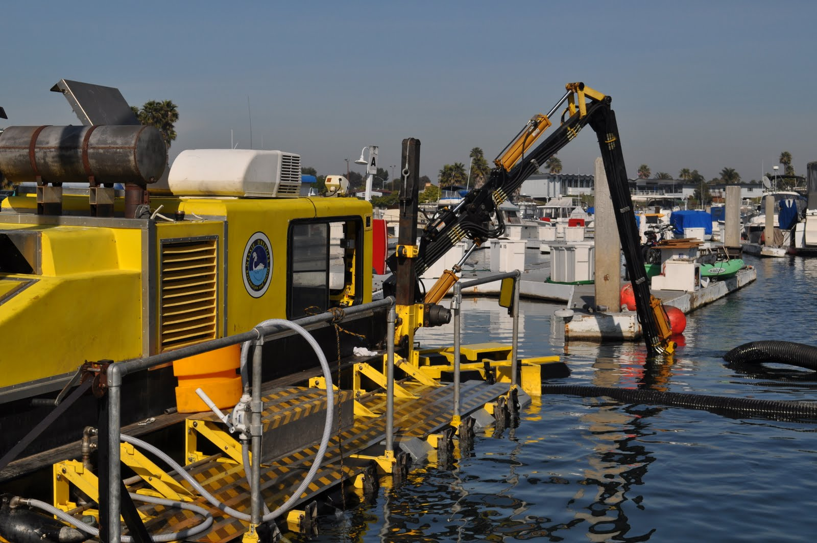 Nessie 8DX Cutter Head Dredge Available for Rent | Mark's News