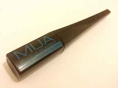 MUA Cosmetics Waterproof Liquid Eyeliner