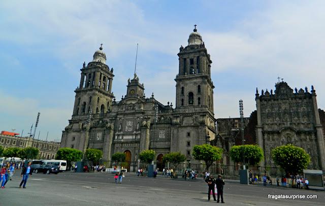 Catedral da Cidade do México, no Centro Histórico