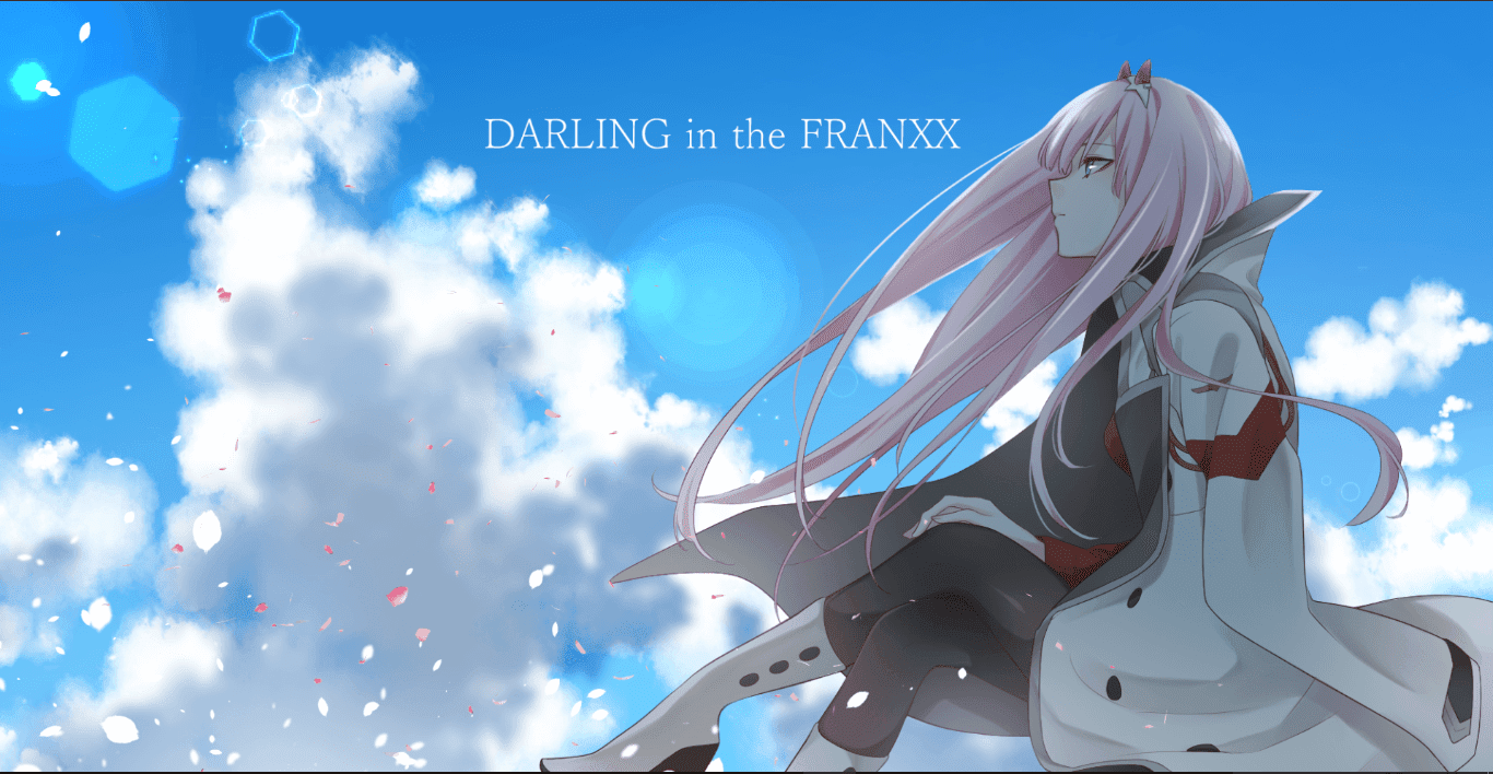 Zero Two (Darling in the FranXX) [1920x1080][Wallpaper Engine Anime]
