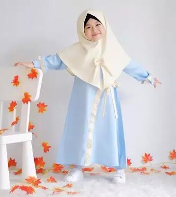 Busana Hijab Anak Terbaru Trend 2019