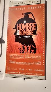 UN HOMBRE ES UN HOMBRE Poster