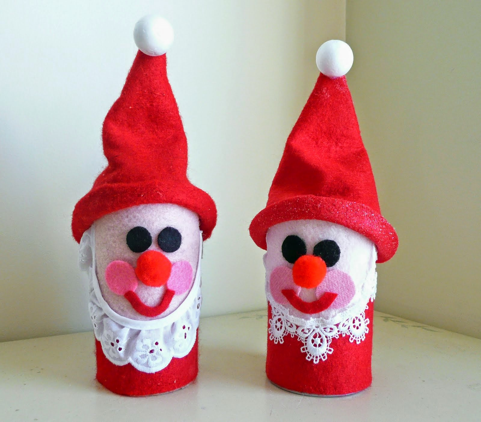 Christmas Craft From Toilet Paper Rolls