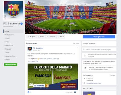 Facebook FC Barcelona