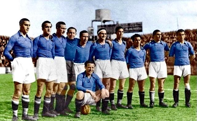 FOTOS HISTORICAS O CHULAS  DE FUTBOL - Página 2 Oviedo%2B1934%2B04%2B22