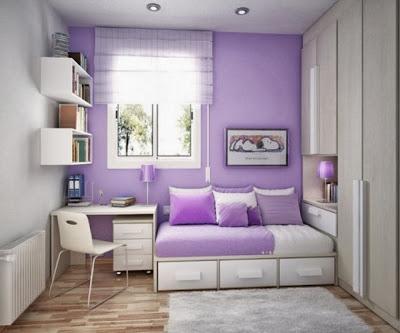 desain kamar anak ungu muda : desain rumah - rumah
