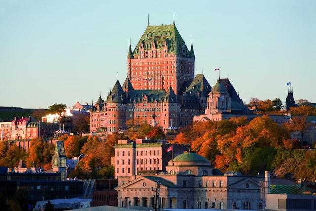 Chatêau Frontenac em Quebec City